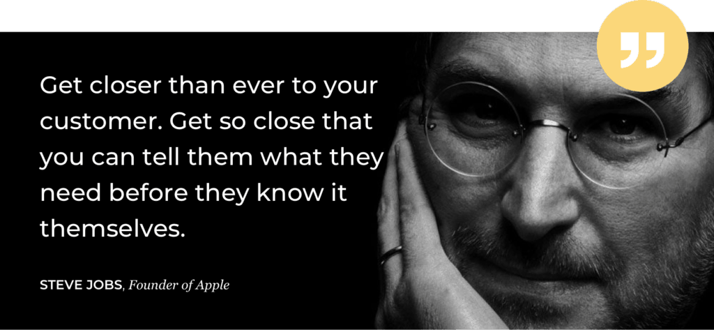 Steve Jobs quote - trust hacking